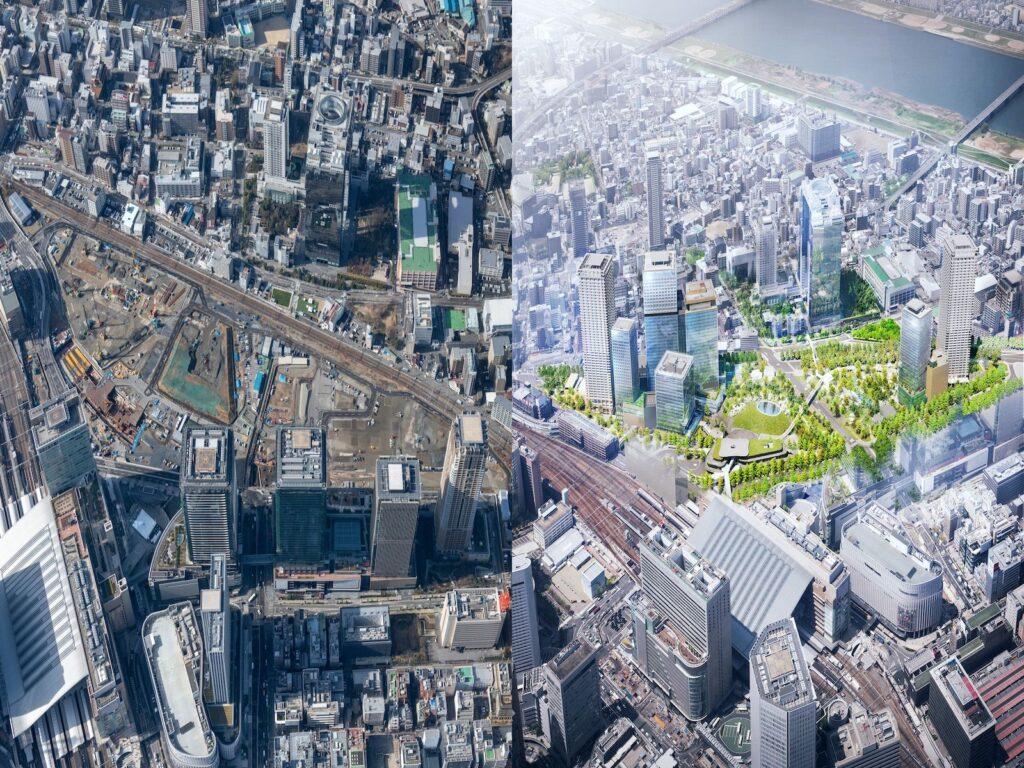 開発事業者が一丸となって取り組む、環境に配慮した次世代の新しい都市モデル